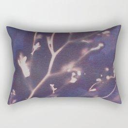 Cyanotype No. 12 Rectangular Pillow