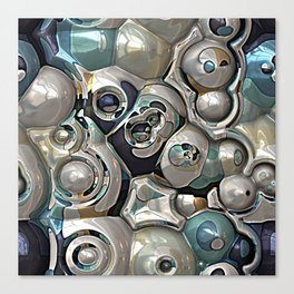 Cluster of Spheres Canvas Print
