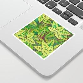 Spring leaves Sticker