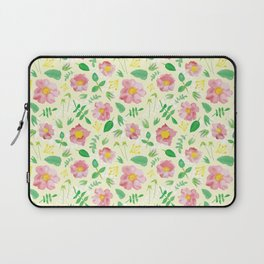 California Rose Pattern Laptop Sleeve
