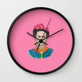 PINK FRIDA Wall Clock