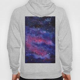 Nebula Galaxy Watercolor Space Sky Hoody