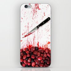 Healthy bloody Eating iPhone & iPod Skin