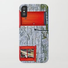 Winchester Red Door Slim Case iPhone X