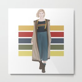 Doctor Who | 13th Doctor Metal Print