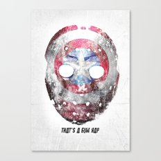 Yankee Mask Canvas Print