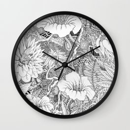 Lost in the Wilderness Wall Clock