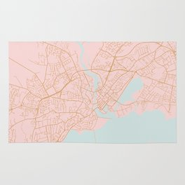 Galway map Rug