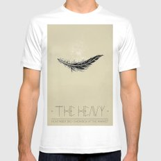The Heavy Mens Fitted Tee MEDIUM White