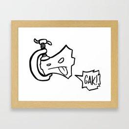c-clamp champ Framed Art Print