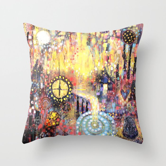 A Healer's Song Throw Pillow