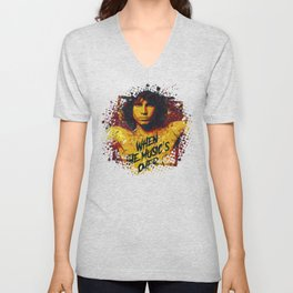 Jim Morison (the doors) | Pop Art | Old School Collection Unisex V-Neck