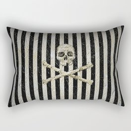 Pirate Stripes Rectangular Pillow