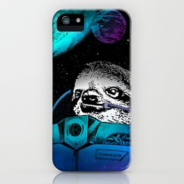 Astronaut Sloth 2 iPhone Case