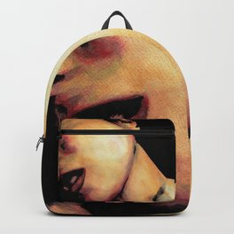 You're No Angel (sexy pop art painting) Backpack