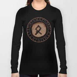 Othala Rune ancestral property, one's homeland or a sense of physical, mental, emotional, spiritual Long Sleeve T-shirt