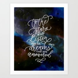 Dreams Answered Art Print