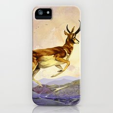 Pronghorn in the Morning iPhone (5, 5s) Slim Case