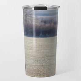 The Call of the Sandhill Cranes Travel Mug
