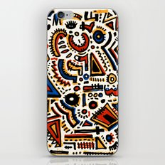 Pattern Number 10B iPhone & iPod Skin