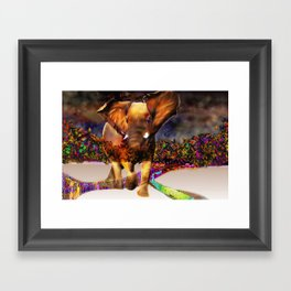 earth rumble Framed Art Print