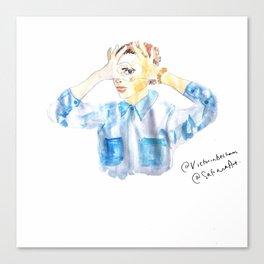 Love Victoria Canvas Print