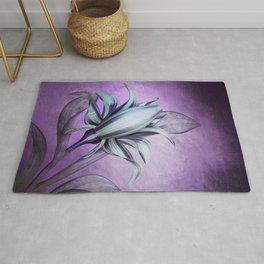 Ultra Violet Iris Rug