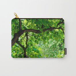 Peek into the Summer Trees Carry-All Pouch