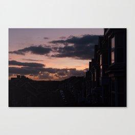 See me at sundown I Canvas Print
