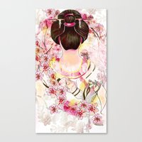 japanese Canvas Prints featuring Japanese by Felicia Atanasiu