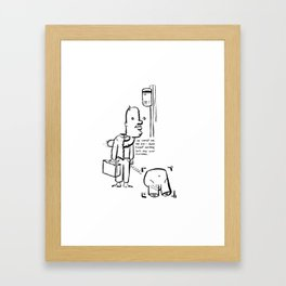 """Tucked Securely"" Framed Art Print"