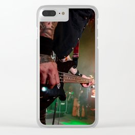 Bassic Black Clear iPhone Case