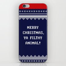 Home Alone – Merry Christmas, Ya Filthy Animal! iPhone & iPod Skin