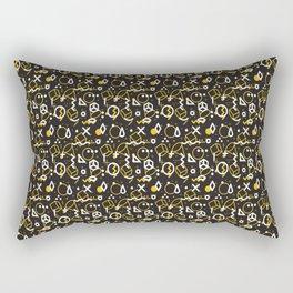 Colorful Patterns Rectangular Pillow