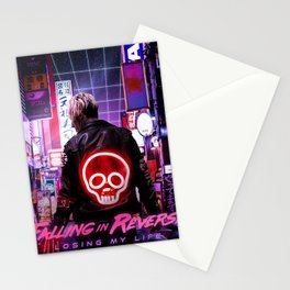 FALLING IN REVERSE LOSING MY LIFE TOUR DATES 2019 EHSAN Stationery Cards