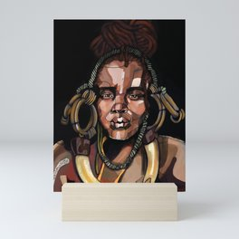 Africa '92 Mini Art Print