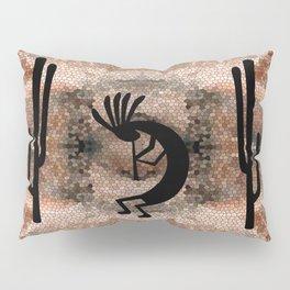 Kokopelli Southwest Desert Pillow Sham