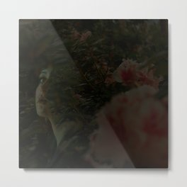 Girl With(out) a Pearl Metal Print