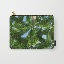 Coconut trees leaves pattern Carry-All Pouch
