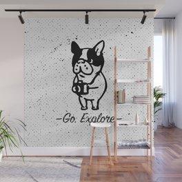 GO EXPLORE Wall Mural