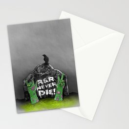 Rock & Roll Never die! Stationery Cards