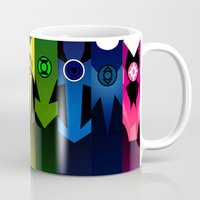 lanterns Mugs featuring Lanterns by Madeoftin