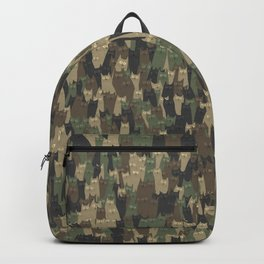 Camouflage cats Backpack
