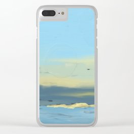 Sand Bar Clear iPhone Case
