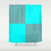 be happy Shower Curtains featuring Happy by Fimbis