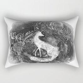 Fox and Frost Rectangular Pillow