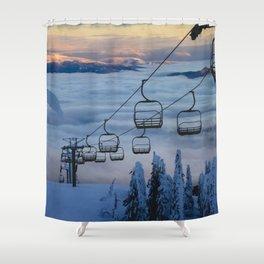 LAST CHAIR Shower Curtain