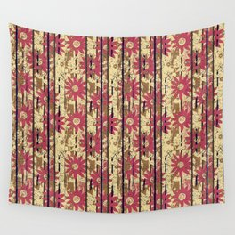 Busy Chrysanthemums in Motion By Danae Anastasiou  Wall Tapestry