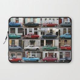 Cuba Cars - Horizontal Laptop Sleeve