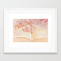 once upon a  time Framed Art Prints featuring ONCE UPON A TIME ... by VIAINA